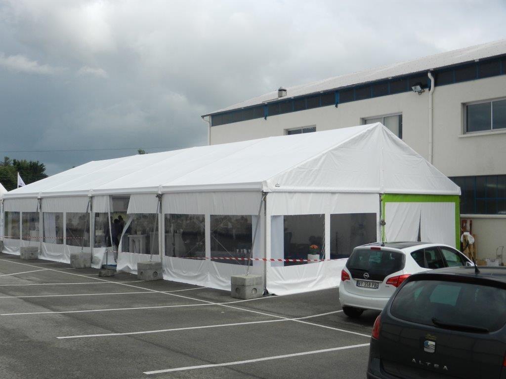 chapiteau structure 200 m2
